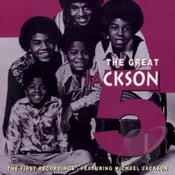 Jackson 5 - Great: First Recordings CD Cover Art