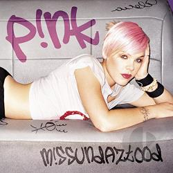 Pink - M!ssundaztood CD Cover Art