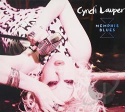 Lauper, Cyndi - Memphis Blues CD Cover Art