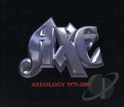Axe - Axeology 1979-2001 CD Cover Art