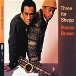 Brown, Marion - Three For Shepp CD Cover Art