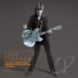 Edmunds, Dave - Many Sides of Dave Edmunds: The Greatest Hits CD Cover Art