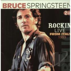Springsteen, Bruce - Rockin' Live from Italy 1993 LP Cover Art