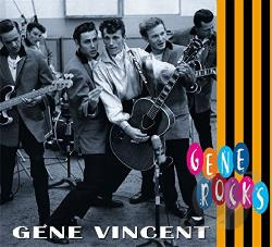 Vincent, Gene - Gene Rocks CD Cover Art