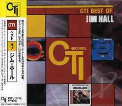 Hall, Jim - Cti Best Of CD Cover Art