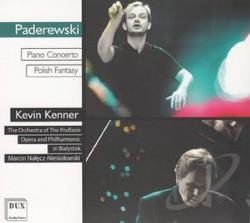 Kenner / Niesiolowski / Ooifp / Paderewski - Piano Concerto Polish Fantasy CD Cover Art