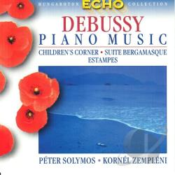 Debussy / Solymos / Zempleni - Children's Corner / Suite Bergamasque Estampes CD Cover Art