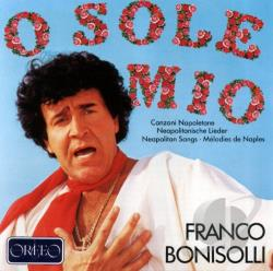 Bonisolli, Franco - Bonisolli: Neapolitan Songs Vol.1 CD Cover Art