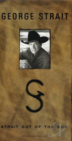 Strait, George - Strait Out of the Box CD Cover Art