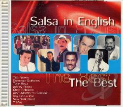 Best... Salsa In English CD Cover Art