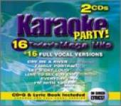 Karaoke Party - Today's Mega Hits CD Cover Art