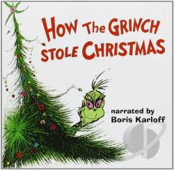 Karloff, Boris - How the Grinch Stole Christmas CD Cover Art