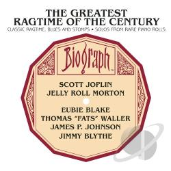 Greatest Ragtime Of The Century CD Cover Art