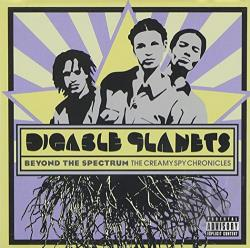 Digable Planets - Beyond the Spectrum: The Creamy Spy Chronicles CD Cover Art