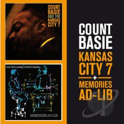 Basie, Count - Kansas City 7/Memories Ad-Lib CD Cover Art