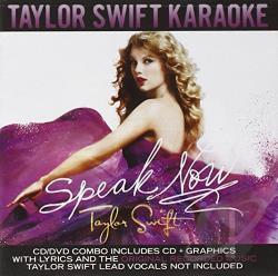 Taylor Swift Karaoke on Karaoke   Speak Now  Taylor Swift Karaoke Edition Cd Cover Art