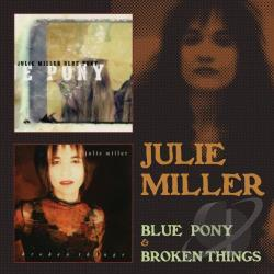 Miller, Julie - Blue Pony & Broken Things CD Cover Art