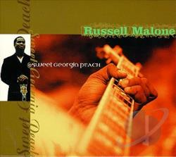 Malone, Russell - Sweet Georgia Peach CD Cover Art