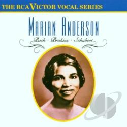 Anderson, Marian - Vocal Recital CD Cover Art