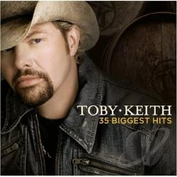 Keith, Toby - 35 Biggest Hits CD Cover Art