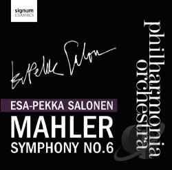 PAO / Salonen - Mahler: Symphony No. 6 CD Cover Art