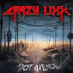 Crazy Lixx - Riot Avenue CD Cover Art