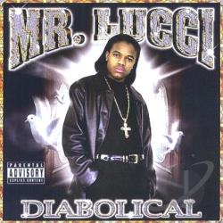 Mr Lucci - Diabolical CD Cover Art
