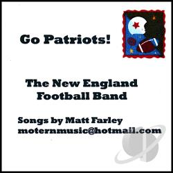 New England Football Band - Go Patriots! CD Cover Art