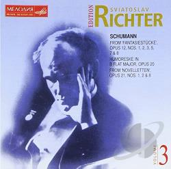 Richter, Sviatoslav: pno - Sviatoslav Richter Edition, Vol. 3 CD Cover Art