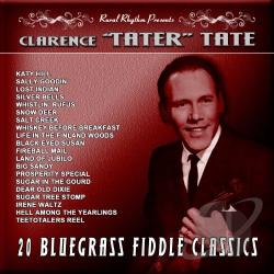 Tate, Clarence Tater - 20 Bluegrass Fiddle Classics: Vintage 60's CD Cover Art