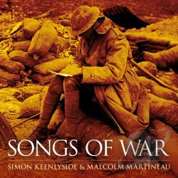 Keenlyside, Simon - Songs of War CD Cover Art