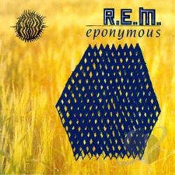 R.E.M. - Eponymous CD Cover Art