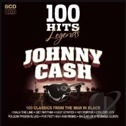 Cash, Johnny - 100 Hits Legends: Johnny Cash CD Cover Art