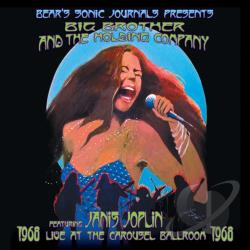 Big Brother & The Holding Company - Live at the Carousel Ballroom 1968 CD Cover Art