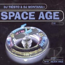 Tiesto - Space Age 2.0 CD Cover Art