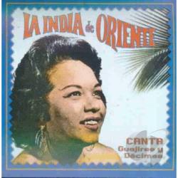 La India De Oriente - Canta Guajiras CD Cover Art