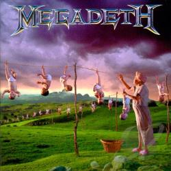 Megadeth - Youthanasia CD Cover Art
