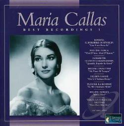 Callas, Maria - Best Recording 1 CD Cover Art