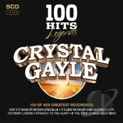 Gayle, Crystal - 100 Hits Legends: Crystal Gayle CD Cover Art