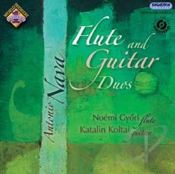 Dialogue Duo / Gyori / Koltai / Nava - Antonio Nava: Flute & Guitar Duos CD Cover Art