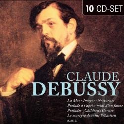 Debussy - Claude Debussy CD Cover Art