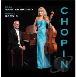 Sant'Ambrogio, Sara - Chopin Collection CD Cover Art