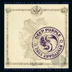 Deep Purple - Live in Stuttgart 1993 CD Cover Art