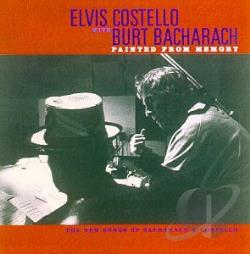 Bacharach, Burt / Costello, Elvis - Painted from Memory CD Cover Art