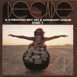 Young, Neil - Decade CD Cover Art