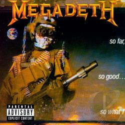 Megadeth - So Far, So Good...So What! CD Cover Art
