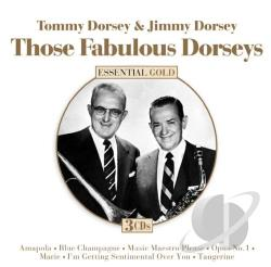 Dorsey, Tommy [Trombone] - Those Fabulous Dorseys CD Cover Art