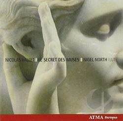 North / Vallet - Nicolas Vallet: Le Secret des Muses CD Cover Art