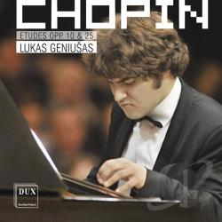Chopin / Geniusas, Lukas - Chopin: Etudes Op. 10 & 25 CD Cover Art