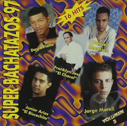 Super Bachatazos '97 CD Cover Art